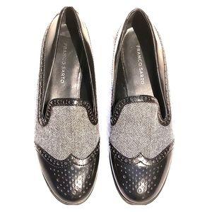 Franco Sarto brogue style loafers